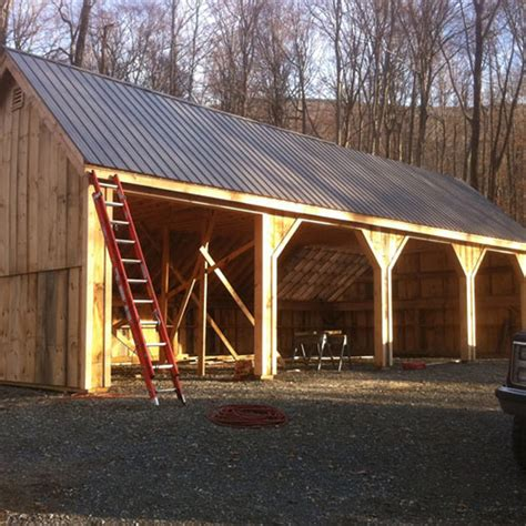 saltbox shed plans 2 to consider 24x36 pole barn farm equipment storage shed