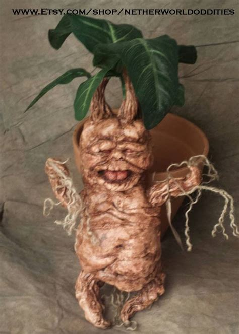 mandrakes harry potter how to make a mandrake sculpture with mold and casting process tutorial harry potter