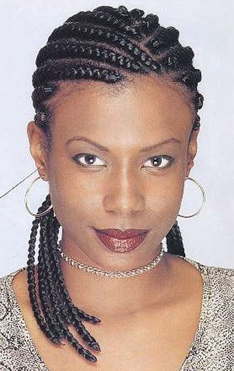 Braids Hairstyles For Black Pictures by Black Cornrow Braid Hairstyles