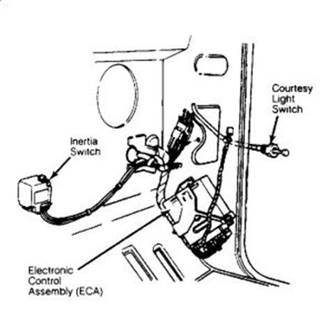 Ford Bronco Emergency Fuel Shut Off Switch
