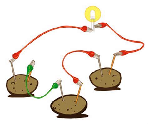 potato light science fair projects images