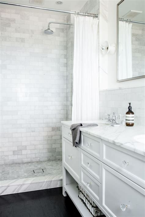 bathroom subway tile bathrooms   dream shower