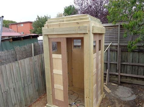 london police box woodworking plans  downloadable file