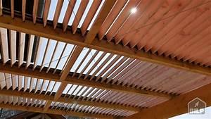 Fabriquer Une Pergola En Alu : comment construire une pergola bioclimatique youtube ~ Edinachiropracticcenter.com Idées de Décoration