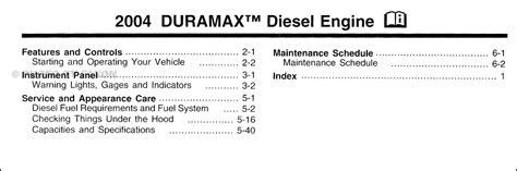 car repair manual download 2002 chevrolet silverado user handbook 2004 silverado sierra duramax diesel owners manual supp chevrolet gmc