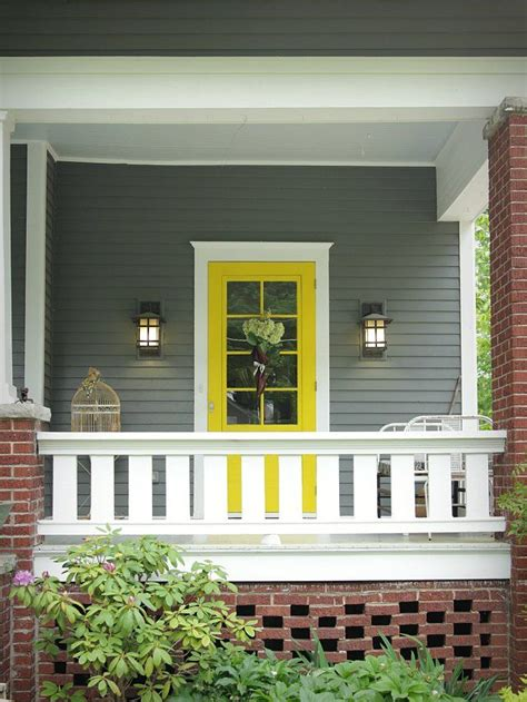 the best paint colors for a front door makeover outdoor