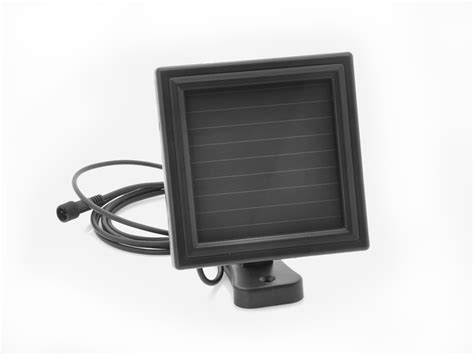 solar powered led security light pir motion detection