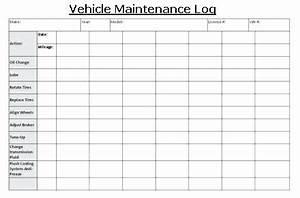 Car Mileage Spreadsheet Truck Maintenance Log Charlotte Clergy Coalition