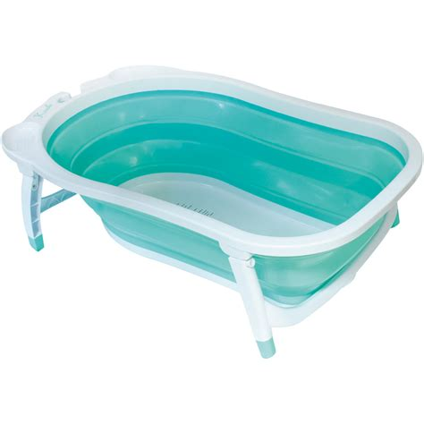 baignoire de voyage bebe baignoire b 233 b 233 pliable bleu de babysun sur allob 233 b 233
