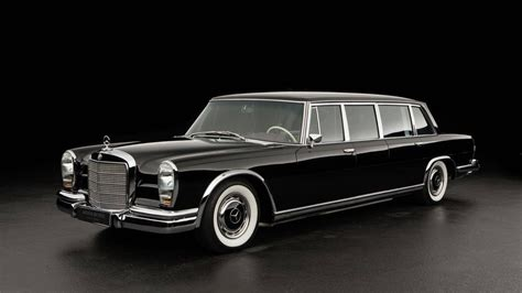 The model came in a short and long wheelbase pullman chassis. One Swanky 1969 Mercedes-Benz 600 Pullman Limo For Sale ...