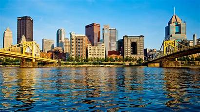 Pittsburgh Skyline Wallpapers Backgrounds Wallpaperaccess
