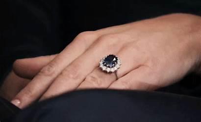 Ring Sapphire Solitaire Engagement Ceylon Carat Diamond