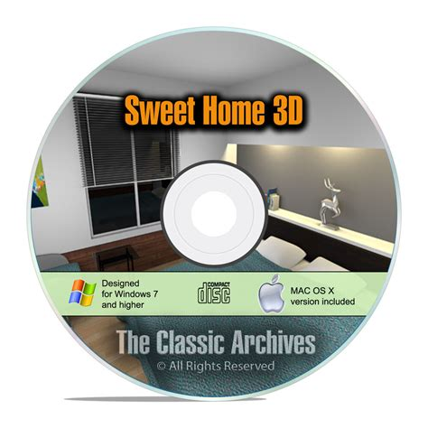 3d Home Design Software List by Sweet Home 3d Interior Design House Architect Software