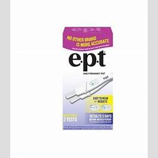 Top Selling Ept Early Pregnancy Test, 2count Best Price  Buy Pregnancy Under $50