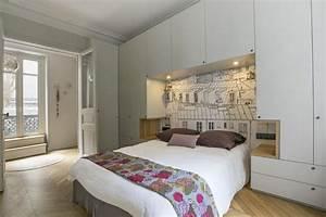 Dressing Autour Du Lit : cristina velani batignolles bedroom en 2019 armarios habitacion habitaciones de lujo et ~ Melissatoandfro.com Idées de Décoration