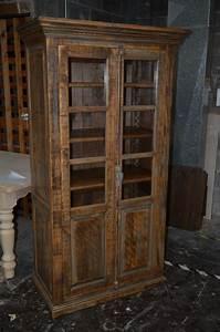 Bibliothèque En Pin Brut : armoire rustique et armoire sculpt e meubles des patriotes ~ Edinachiropracticcenter.com Idées de Décoration