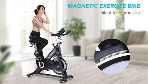 maxkare black magnetic spin bike review maxkare cycle