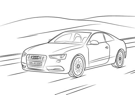 Auto Kleurplaat Getund by Kolorowanki Kolorowanki Audi Do Druku Dla Dzieci I Dorosłych