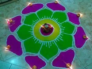 Rangoli Designs With Dots - Easyday