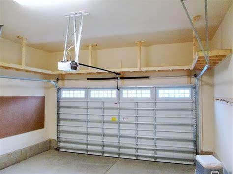 garage shelving systems diy overhead garage organization search workbench