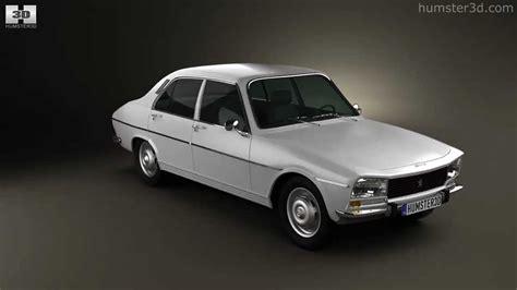 peugeot cars old models peugeot 504 sedan 1970 by 3d model store humster3d com
