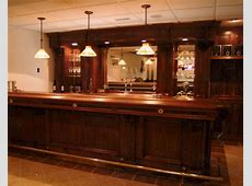Custom Made Walnut Bar by Dugan's Woodworking CustomMadecom