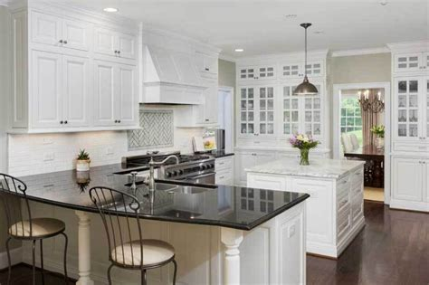 black shiny kitchen cabinets 43 kitchen countertops design ideas granite marble 4743