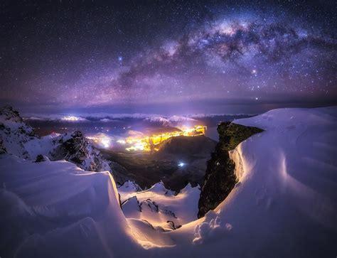 Hintergrundbilder Landschaft Beleuchtung Stadt Nacht