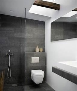Badezimmer Fliesen Grau Weiß : moderne badezimmer ideen coole badezimmerm bel bad ~ Watch28wear.com Haus und Dekorationen