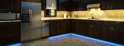 toe kick lighting in kitchen led toe kick lighting photo gallery bright leds 8544