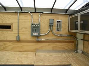 50 Amp Circuit Breaker Panel With Four 20amp Duplex