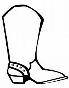 How To Draw Cowboy Boots : Kids Coloring - europe-travel ...
