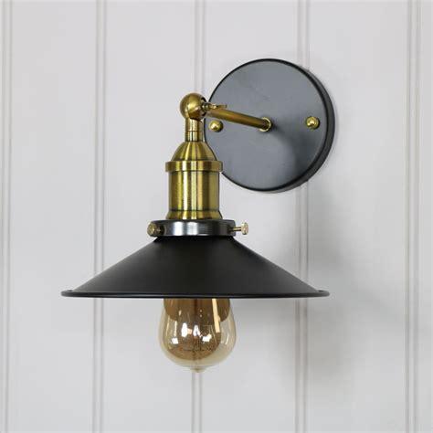 vintage industrial style 1 arm adjustable wall light
