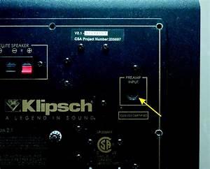 Klipsch Promedia 2 1 Repair