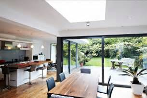 kitchen extensions ideas kitchen dining glass extension home interior design ideas