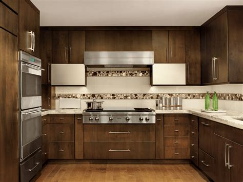 contemporary kitchen with mosaic tile backsplash beck