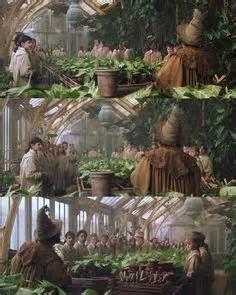 herbology class greenhouse hogwarts harry potter set design etc pinterest hogwarts greenhouses and search