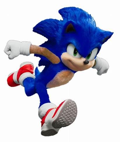 Sonic Movie Render Deviantart Hedgehog V3 Fan