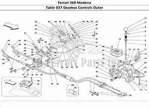 Buy Original Ferrari 360 Modena 037 Gearbox Controls Outer