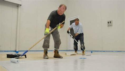 garage floor paint how to apply how to apply garage floor epoxy coatings the diy guide all garage floors