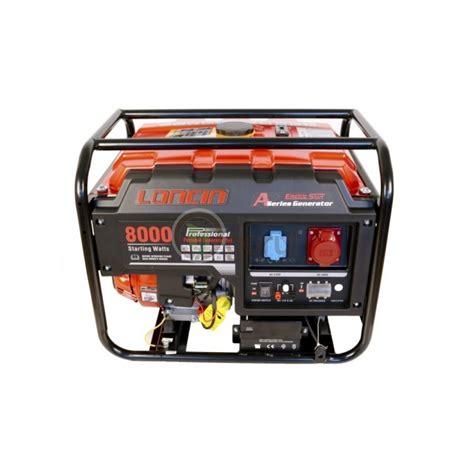 Motor Trifazic 4 Kw Pret by Ggenerator De Curent O Mac Lc8000d A Series Loncin