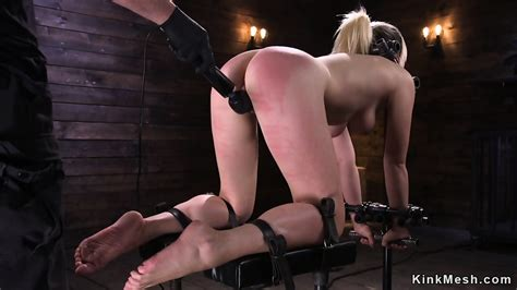 blonde slave gets tits whipped to red eporner