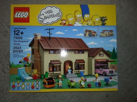 First Look At Lego Simpsons