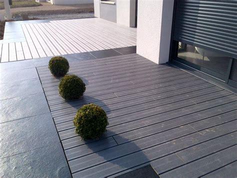 terrasse exterieure bois composite terrasse contemporaine bois composite nos conseils