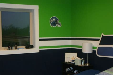 seahawks paint colors lowes best about seahawk room mancave seattle seahawks pool tables and sport