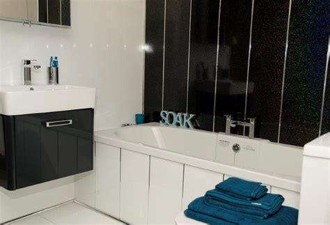 tiling ideas bathroom white sparkle bathroom cladding direct