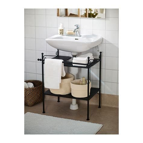 ikea pedestal sink shelf 10 creative storage solutions for small bathrooms modernize