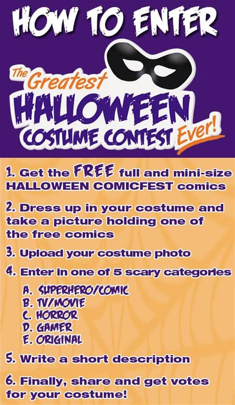 Win Prizes in the Halloween ComicFest Costume Contest