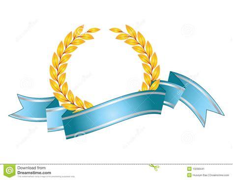 Award Leaf Symbol Stock Image