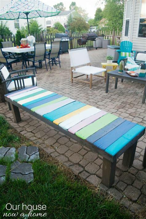 diy wood pallet bench  cost  easy